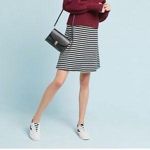 {Anthro} Striped Skirt